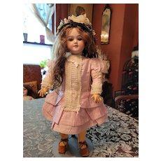 Vintage Pink Cotton Doll Dress