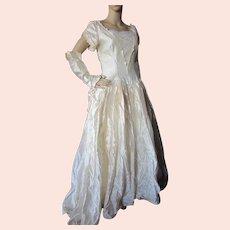 Wedding Gown Bridal Dress Candlelight Shantung