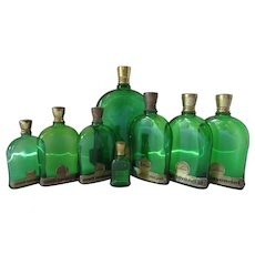 Collection Perfume Bottles Uralt Lavendal Gustav Lohse Berlin
