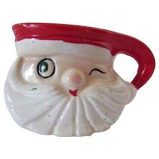 Small Winking Santa mug Holt Howard 1959