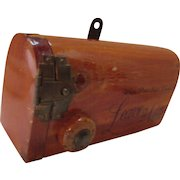 Miniature Pine Mail Box for Personal Messages Souvenir of White Pine State Park Illinois