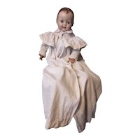 Victorian Era Infant or Large Doll Coat Christening Length