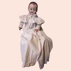 Victorian Era Infant or Large Doll Coat Christening Length