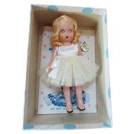 Nancy Ann Story Book Doll #63 Big Sister Goes to Dance School Sisters Series Original Box