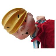 Dennis the Menace Hand Puppet Hall Syndicate 1959-1960 Cartoon Character by Hank Ketcham