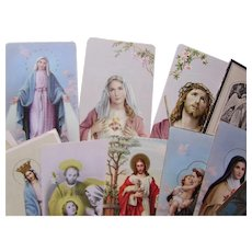 Polish Catholic Prayer Cards, Holy Cards, Memory Cards Milwaukee Area 1935-2004