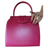 Fashionable Palizzio Handbag in Peony Pink Very New York