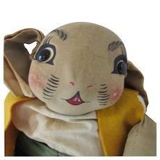 Uncle Wiggily Stuffed Toy Georgene Averill 1930 Era Well Loved