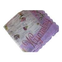 Souvenir Handkerchief Three States Wyoming Idaho and Montana