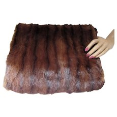 Magnificent Mink Muff--So 1940's