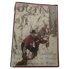 Outing Magazine January 1916  Day in the Forest Service Making Men