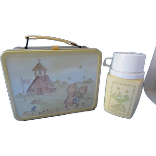 Betsy Clark Lunch Box & Thermos 1975 Hallmark Cards