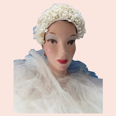 Wedding Veil 1920 1930 Era Lily of the Valley Head Band