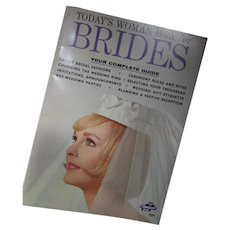 Book for Brides Today's Woman 1960 Era Hints and Advice for the Bride