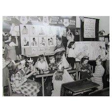 Black White Photo Early 1950's Catholic School Native American Studies