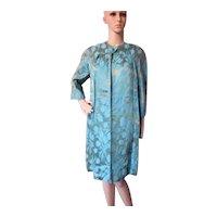 Sophisticated 1960 Era Brocade Coat & Dress After 5 Set