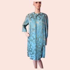 Sophisticated 1960 Era Brocade Coat & Dress After 5 Set