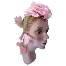 Pink Flower Whimsy Hair Ornament Trailing Vines