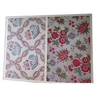 Matted Print of La Manufacture de Jouy Plate 49 Fleurs India Inspired Designs A. Bourdier