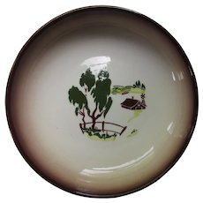 Brock of California Pottery Vegetable Dish Harvest Pattern