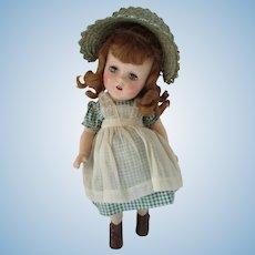 Flora McFlimsey Madame Alexander Composition Doll Original Outfit 1930 Era