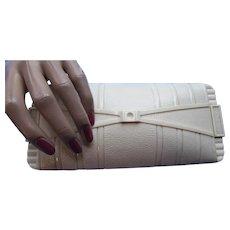 Jewelry Box Bugbee & Niles Co Cream Tone Plastic