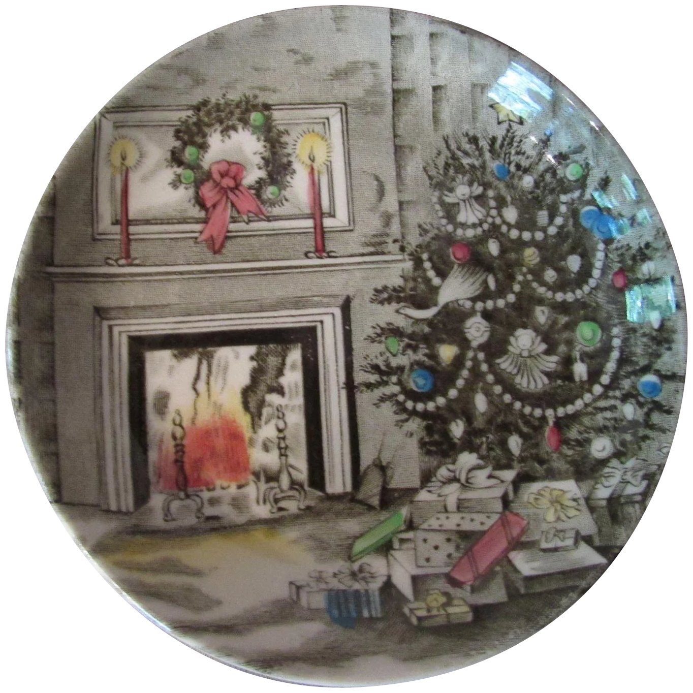 Four Johnson Brothers Holiday China Coasters or Butter Pats ...