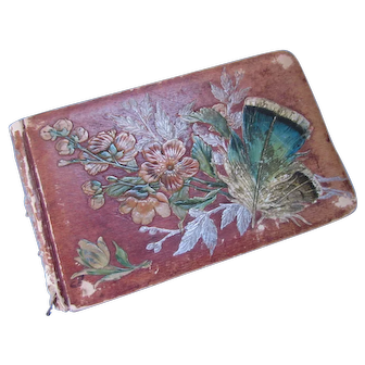 Victorian Era Teacher's Autograph Book from 1882 in English and Foreign Language Until 1912