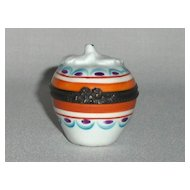 Miniature Porcelain Box
