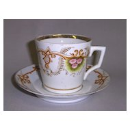 Victorian Cup & Saucer