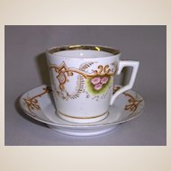 Victorian Cup & Saucer