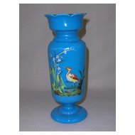 Antique Bristol Glass Vase