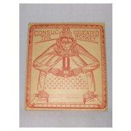The Original 1916 Educated Monkey Calculator