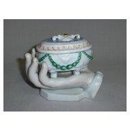Bavarian China Trinket Box