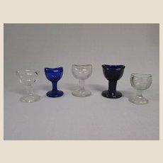 Assortment of Vintage Eyewash Cups