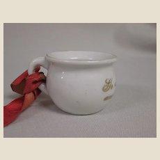 Miniature Souvenir Potty
