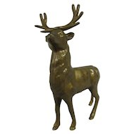 Antique Cast Iron Reindeer Bank
