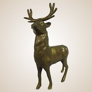 Antique Cast Iron Reindeer Bank