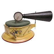 Bingophone Child's Toy Windup Phonograph