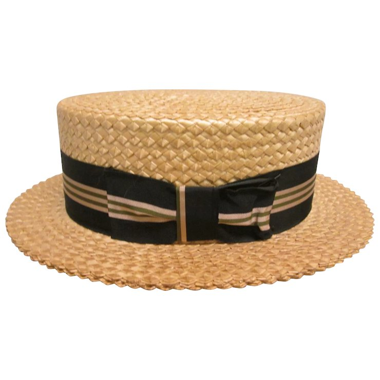 Mens Straw Boater Hats For Sale - Hat HD Image Ukjugs.Org 4a4d407b020
