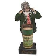 Rare Edison Adverstising Stand
