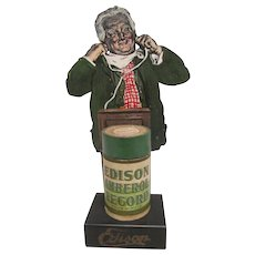 Rare Edison Advertising Stand