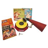 Jack & Jill Toy Phonograph