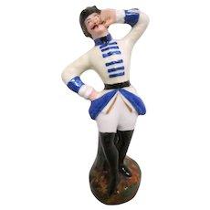 Gentleman's Porcelain Stick Pin Holder