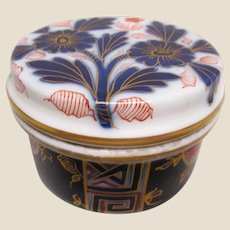 Imari Covered Dresser Jar