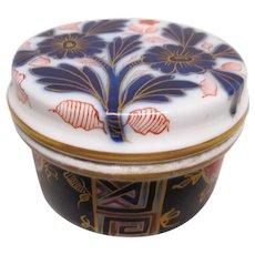 Imari Covered Dresser Jar