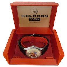 Original Helbros Goofy Watch With Band