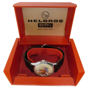 Original Helbros Goofy Watch