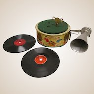 Rare Keimola Toy Phonograph