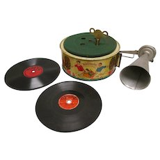 Rare Keimola Toy Phonograph